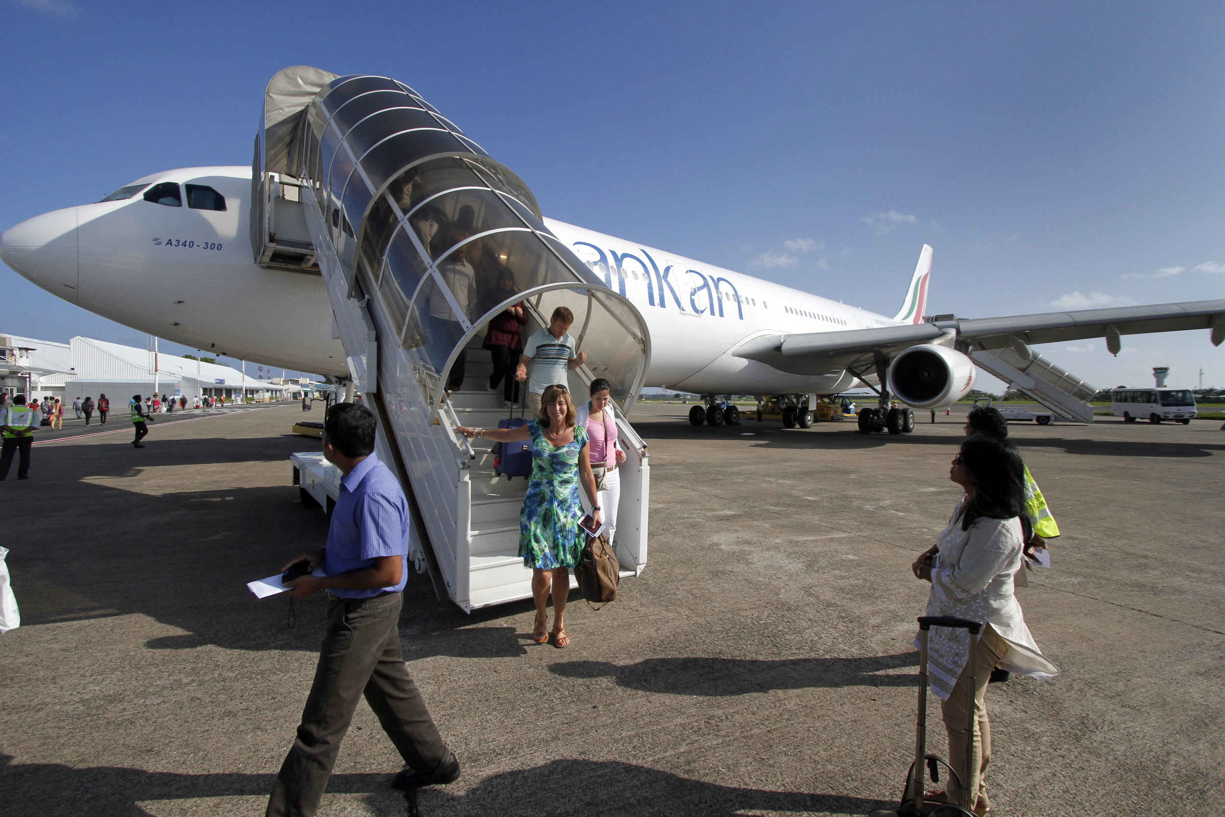 Luchtvaart Malediven Male Airport SriLankan Airlines