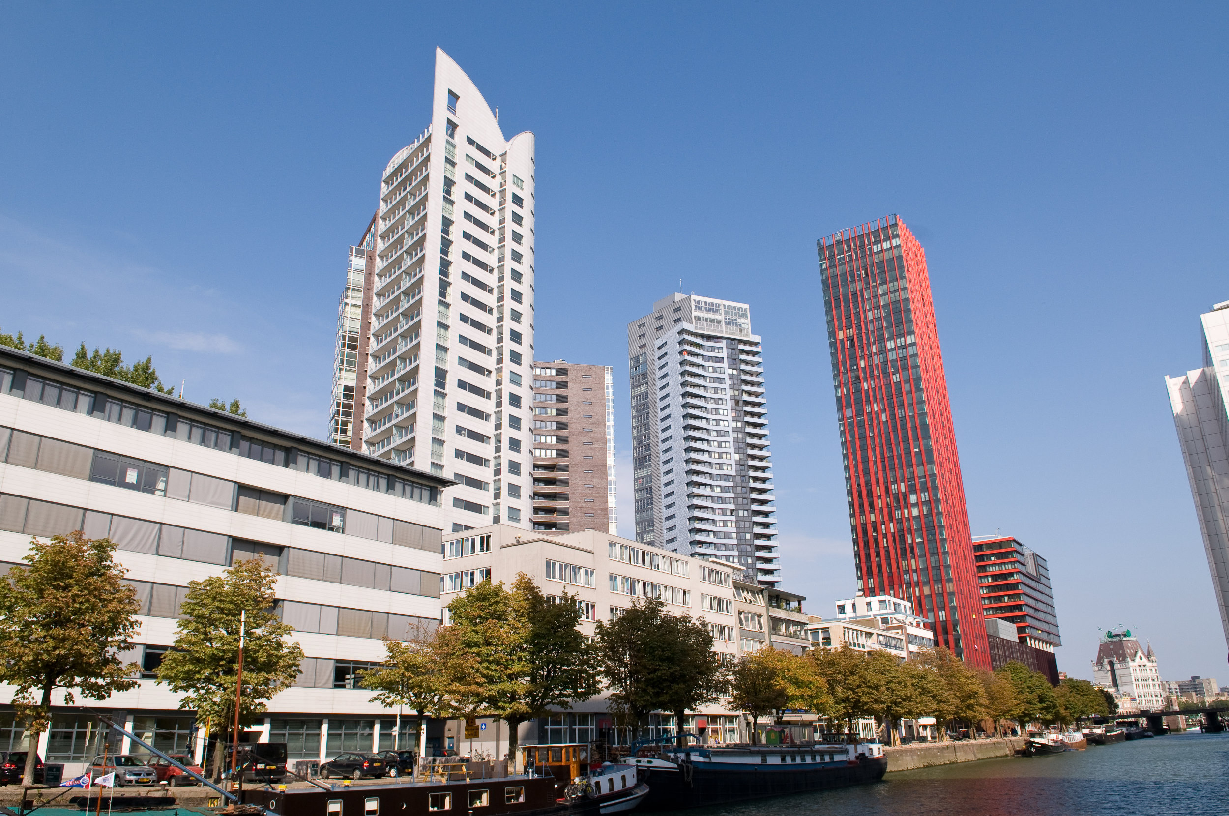 Architectuur Rotterdam The Red Apple Scheepmakershaven