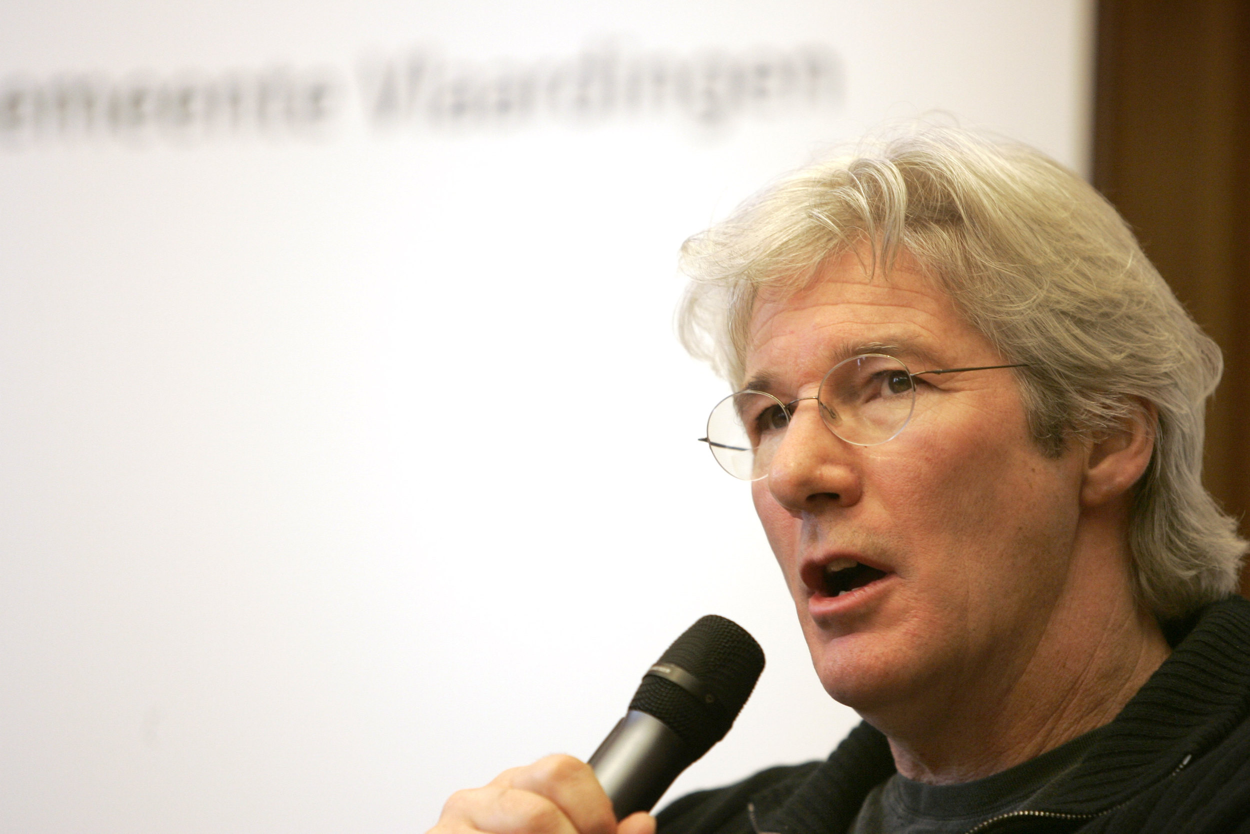 Richard Gere, persconferentie, press conference, Geuzenpenning, Vlaardingen, acteur, actor, Golden Globe