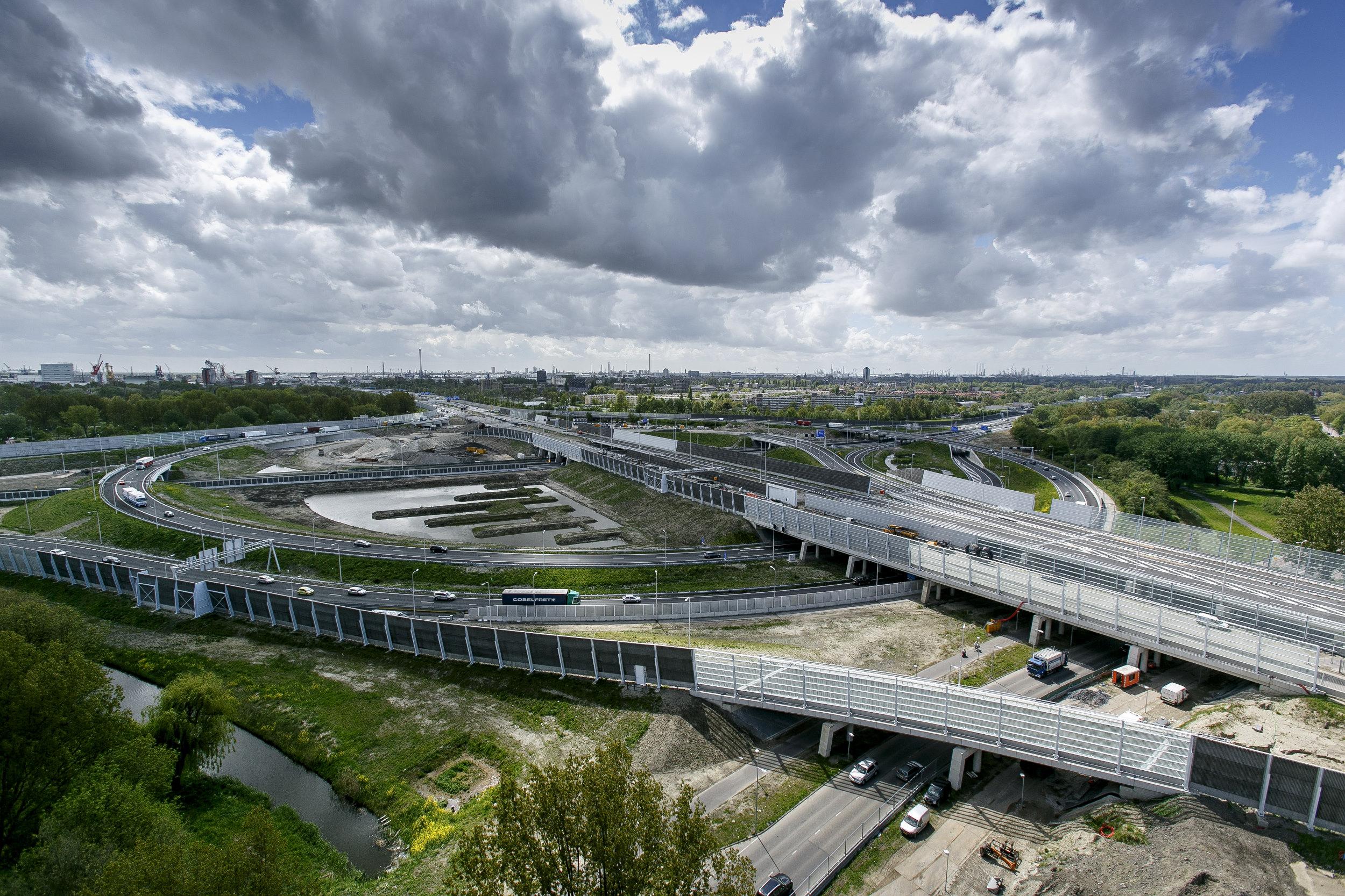 nieuwe a4 snelweg delft