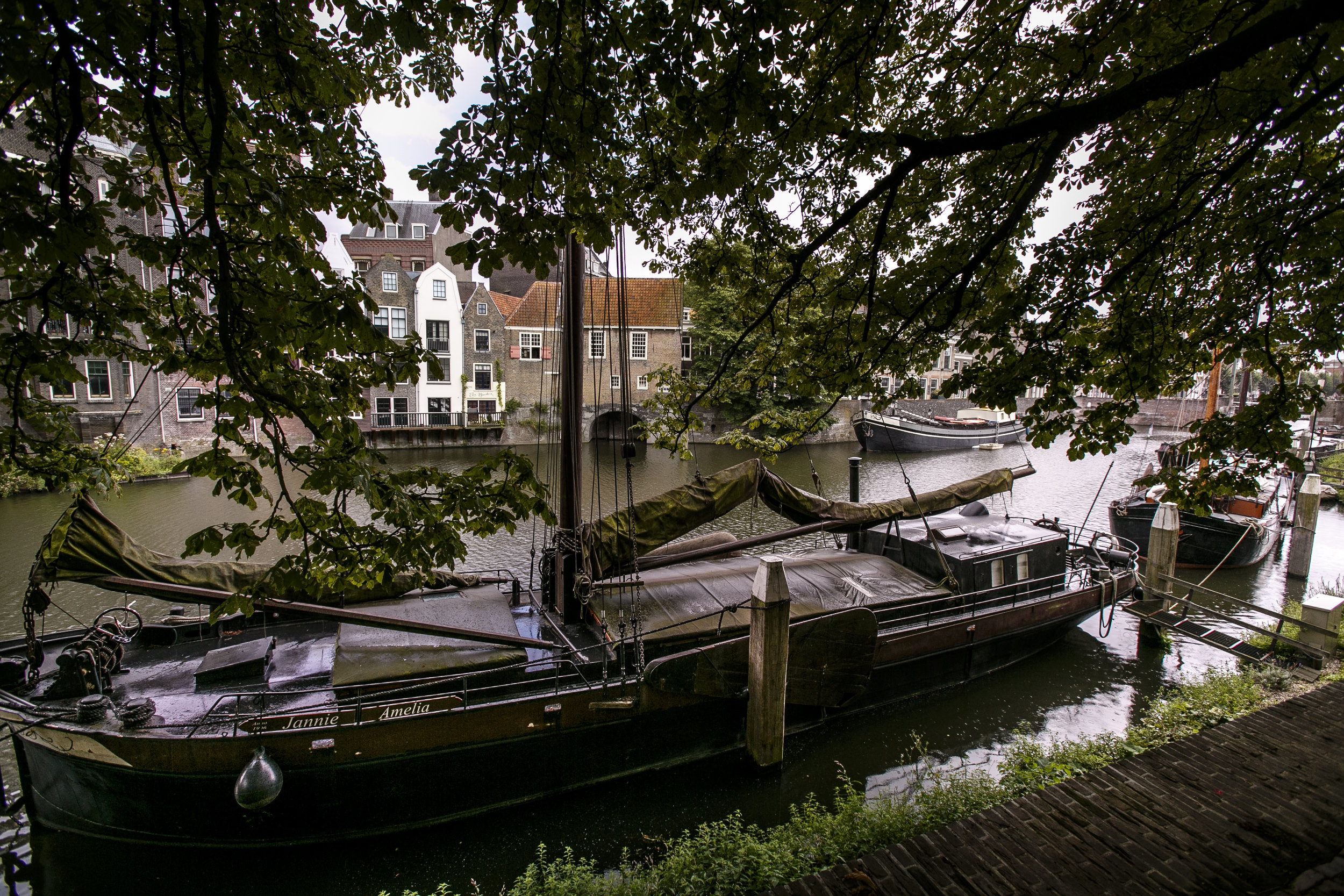 Rotterdam Delfshaven Boot Jannie Amelia Haven