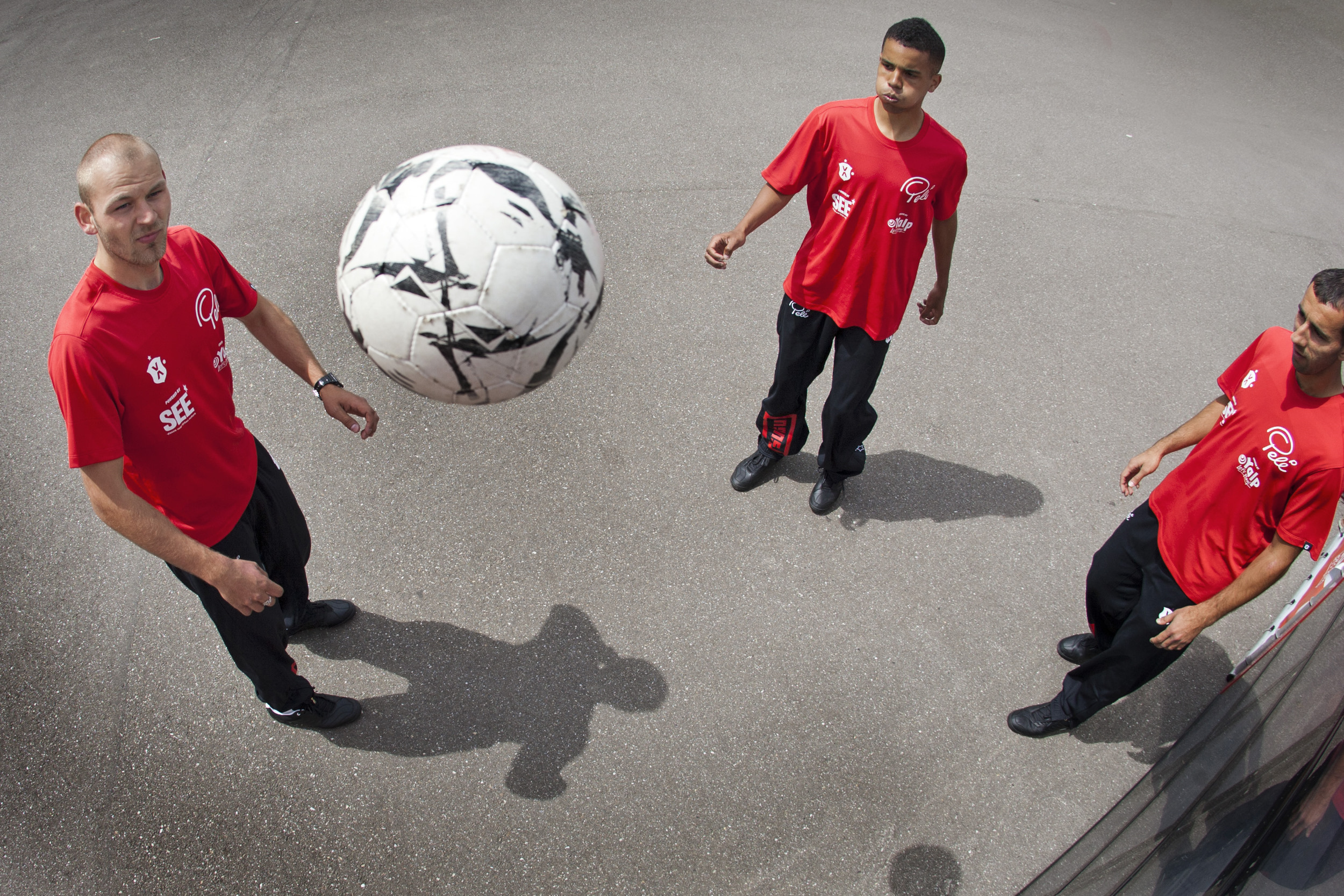 Sport SEE Marketing SUTU Promotie voetbal