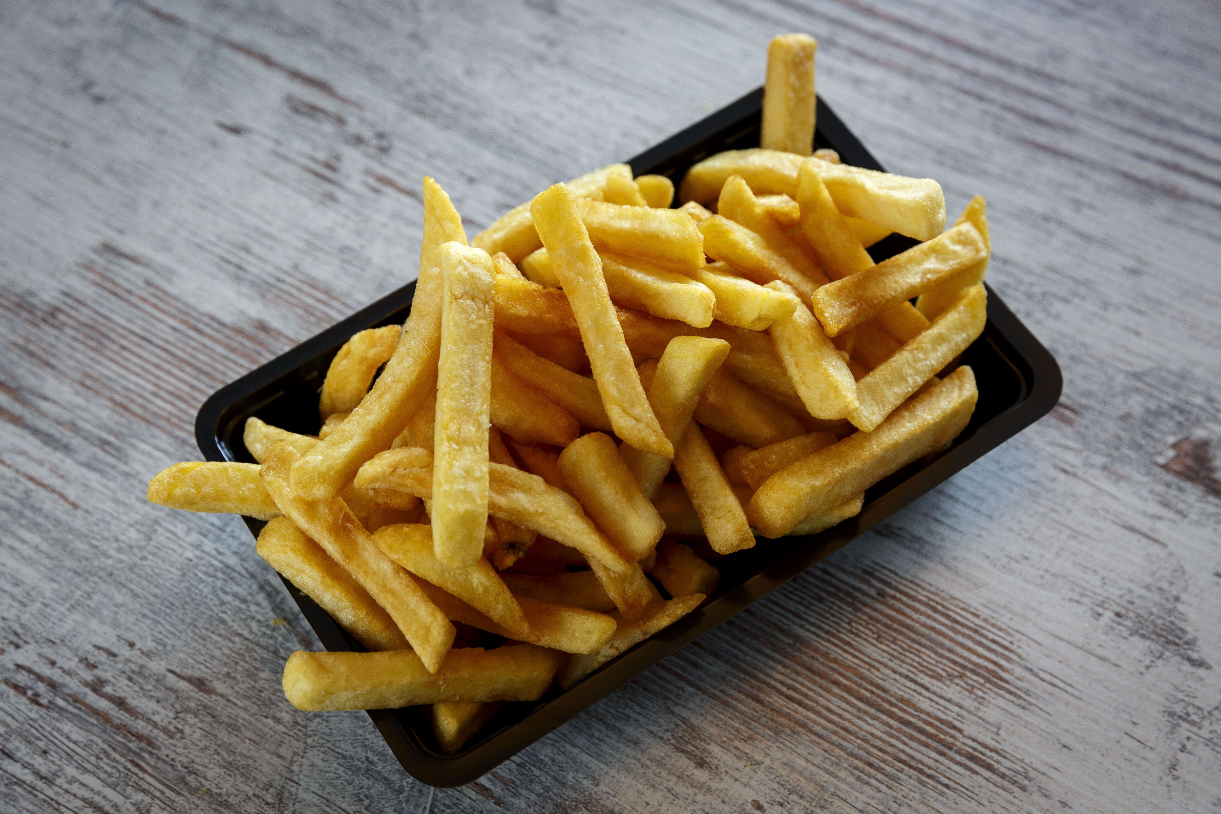 patat fries fastfood frituur ongezond