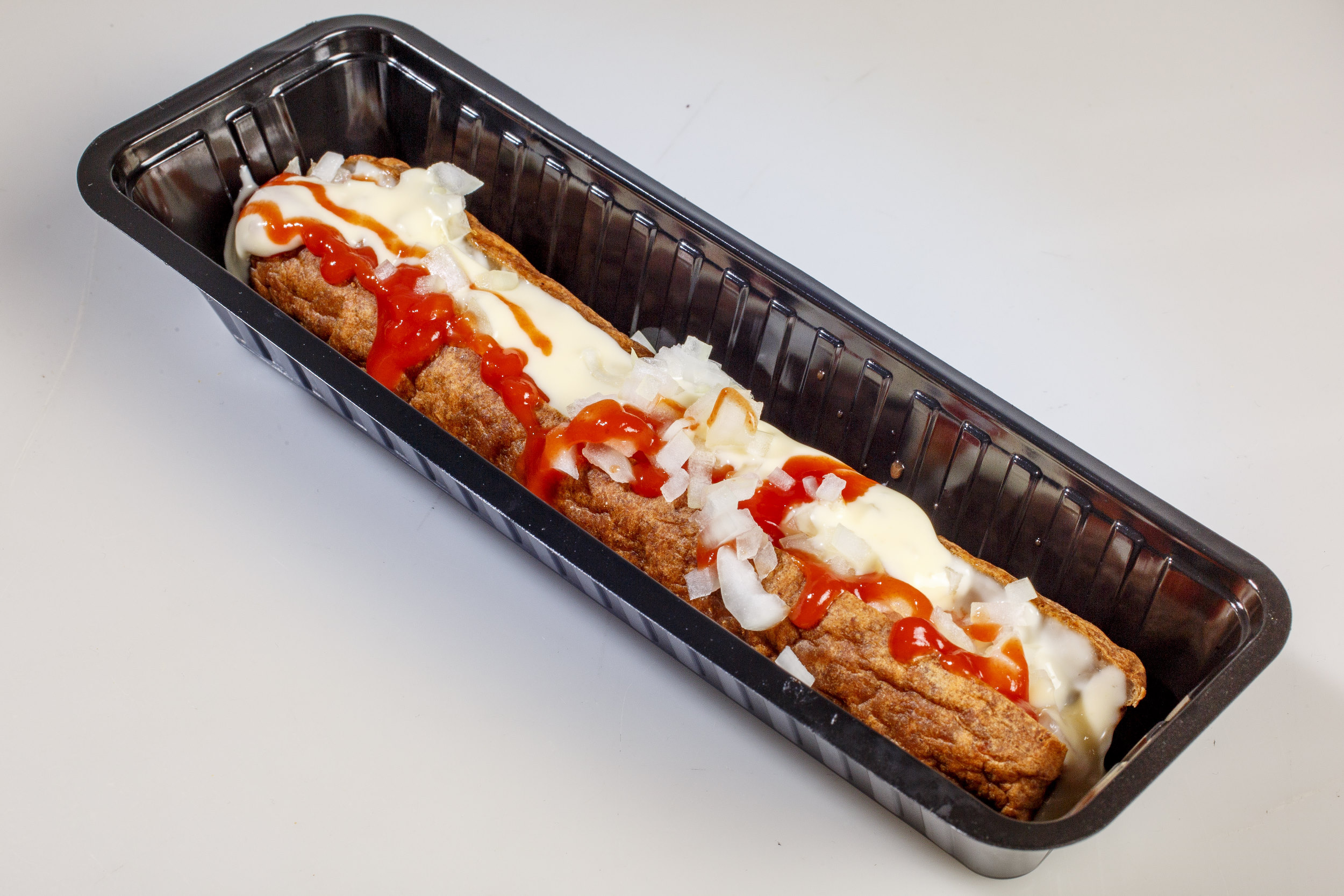 frikandel fricandel ui ketchup mayonaise fastfood snack