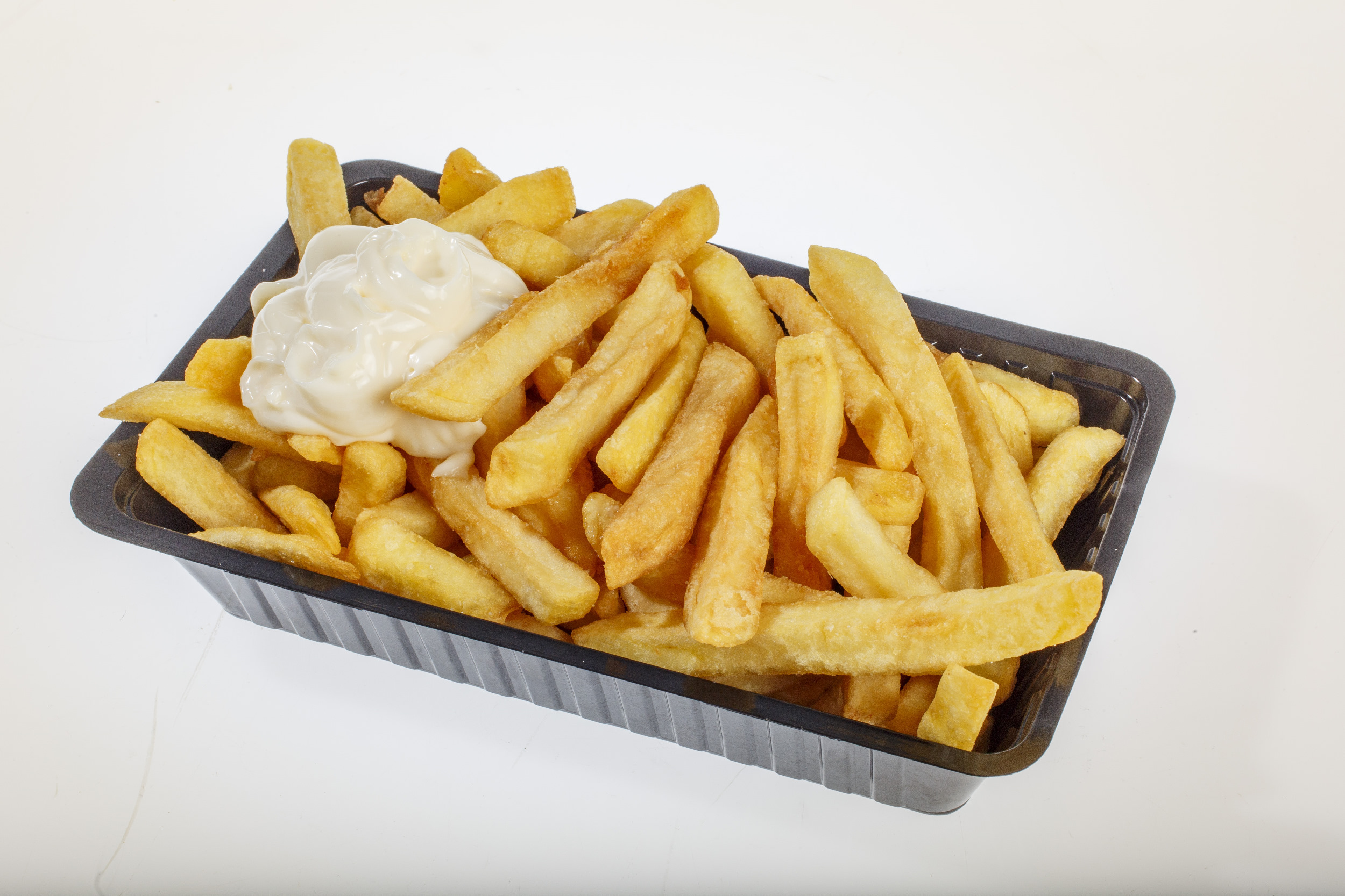 patat fries fastfood frituur mayonaise ongezond