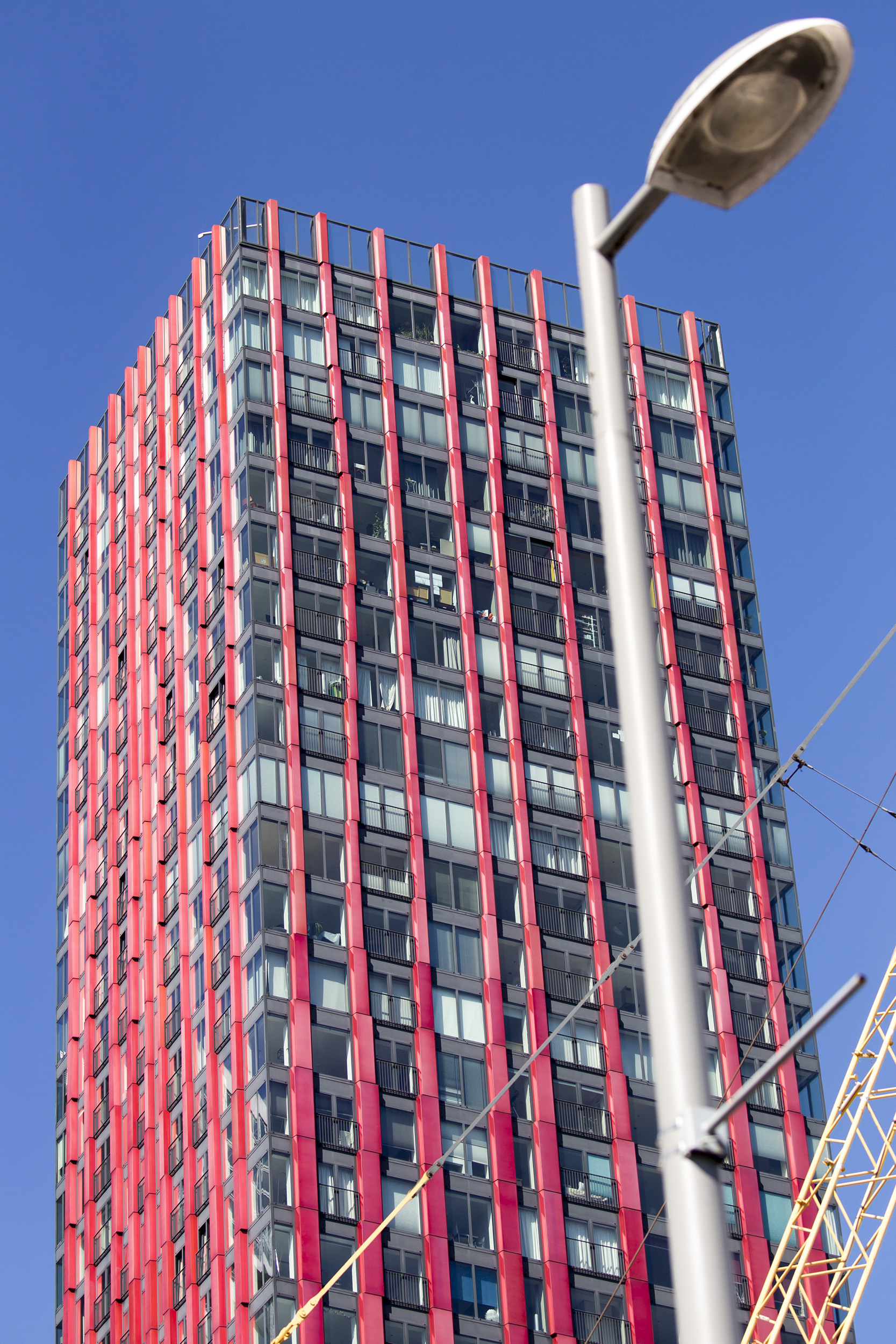 Rotterdam The Red Apple woontoren woontorens architectuur