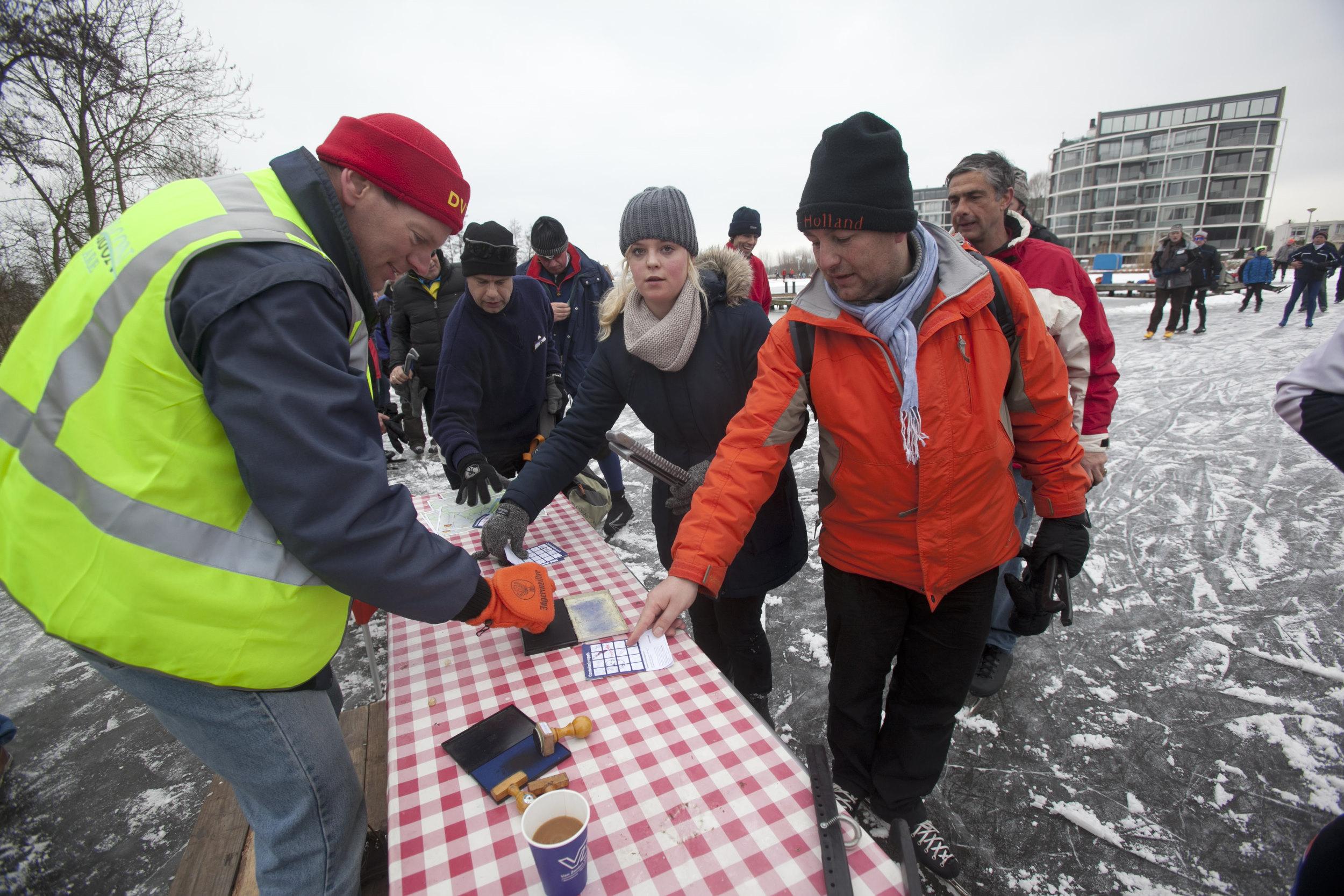 schaatsen op natuur ijs nederland