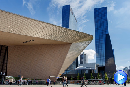 Timelapse video Rotterdam Centraal Station