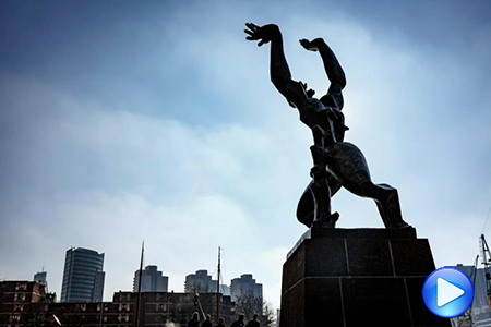 Timelapse video Rotterdam Zadkine