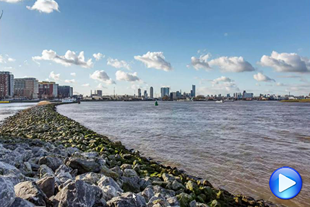 Timelapse video Rotterdam de Maas