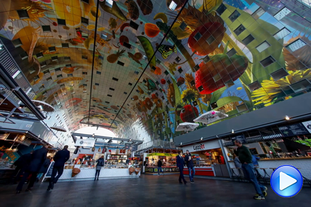 Timelapse video Rotterdam Markthal