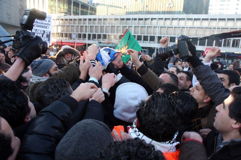 vlag israel rotterdam
